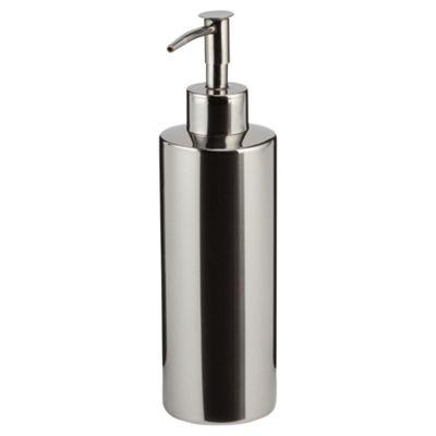 Tesco stainless steel polished soap dispenser