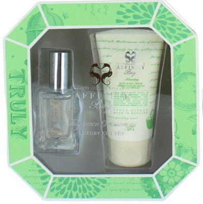 Affinity Bay Luxury Fragrance Set 15ml Eau de Toilette & Hand Cream 50ml Turly Citrus