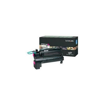 Lexmark X792 Programme Print Cartridge (20K) - Cyan