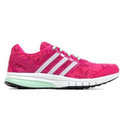 adidas Galaxy Elite 2 Womens Running Trainer Shoe Pink - UK 4.5