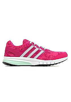 adidas Galaxy Elite 2 Womens Running Trainer Shoe Pink - Pink