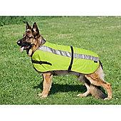 Flectalon Hi Viz Dog Coat 75cm
