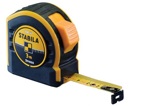 Stabila BM40 Pocket Tape 3m/10ft (Width 19mm)