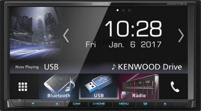 "Kenwood In Car Stereo-7.0"" AV-Receiver│2Din│USB│DVD│Bluetooth│Apple Carplay-Android Auto│DDX 9717BTS"