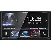 "Kenwood In Car Stereo-7.0"" AV-Receiver│2Din│USB│DVD│Bluetooth│Apple Carplay-Android Auto│DDX 9717BTS"