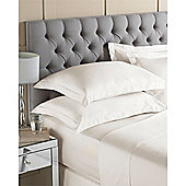 Riva Home Egyptian 400 Thread Count Ivory Flat Sheet - King