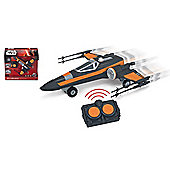 Star Wars Premium Radio Control Poe's X-Wing Fighter