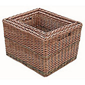 Small Somerset Log Basket - Sold Individually