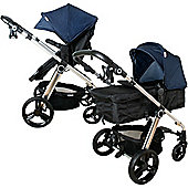 My Babiie MB150BD 3 in 1 Pushchair (Blue Denim)