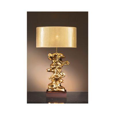 Libero Gold Table Lamp - 60W/20W LE E27