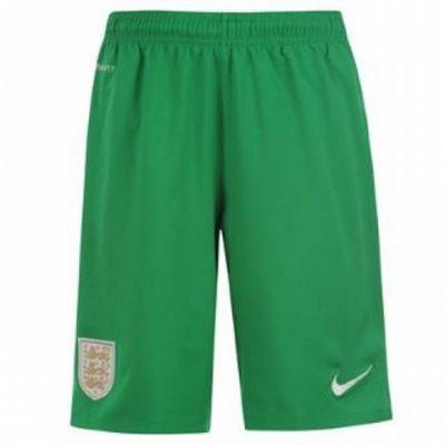 2013-14 England Home Nike Goalkeeper Shorts (Green)