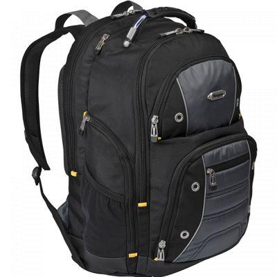 Targus Drifter Backpack (Black/Blue) for 16 inch Laptops