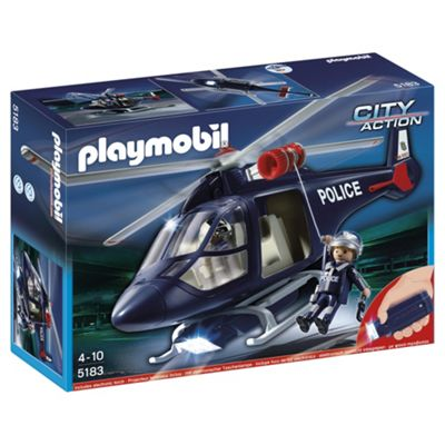 Playmobil City Action Police Helicopter 5183