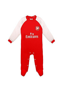 Arsenal FC Baby Sleepsuit - Red