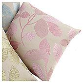 Hamilton McBride Hampton Knife Edge Cushion Cover 43x43cm - Pink