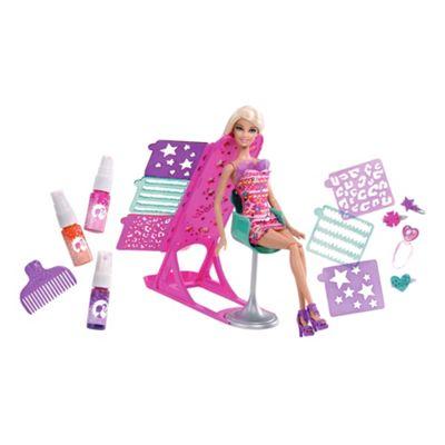 Barbie Hairtastic Colour & Design Salon Playset