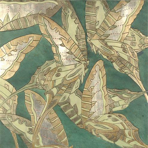 Oceans Apart Deco Butterfly 1 Wall Art