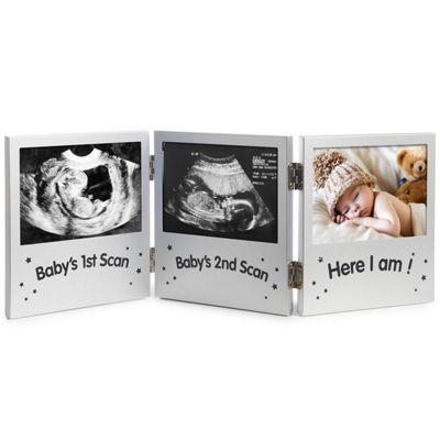 Buy VonHaus Triple Baby Scan Ultrasound Photo Frame / Baby Gift from ...