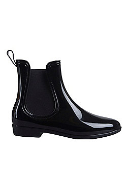 Mountain Warehouse Ride Womens Ankle Wellies - Black