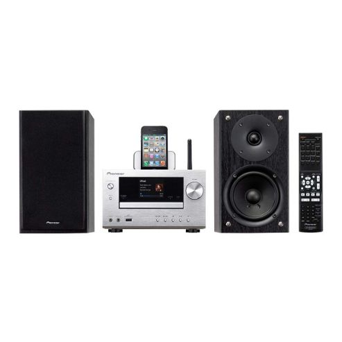 XHM71-S CD Micro HiFi System with WiFi Airplay AM/FM Tuner in Silver