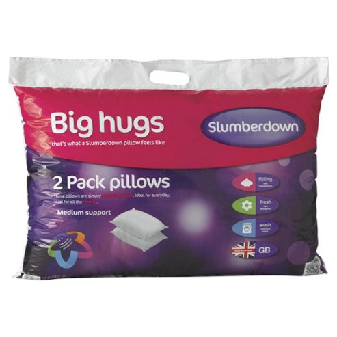 Slumberdown Big Hugs Pillow 2 Pack