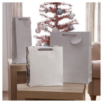 Buy tesco silver gift bags 3 pack from our christmas gift boxes tesco silver gift bags 3 pack negle Images