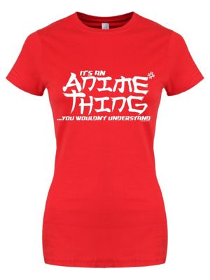 It's An Anime Thing Red Women's T-shirt