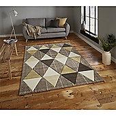 Brooklyn Triangles Rug - Yellow