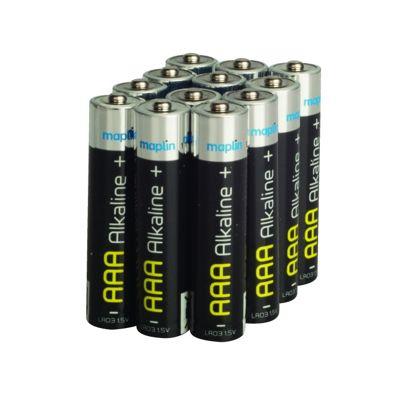 Maplin LR03 AAA Alkaline Long-life Battery