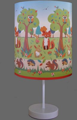 Forest Friends Bedside Lamp