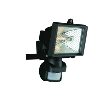 120W Halogen Floodlight and PIR