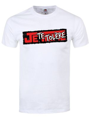 Je Te Tolere White Men's T-shirt