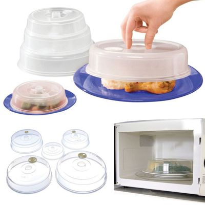 Top Home Solutions Set of 5 Ventilated Microwave Food Plate Covers  sc 1 st  Tesco & Buy Top Home Solutions Set of 5 Ventilated Microwave Food Plate ...