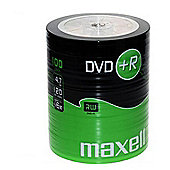MAXELL 100 x DVD+R 4.7GB Blank Recordable Digital Discs