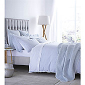 Bianca Cotton Soft Delicate Cotton Print Duck Egg Single Duvet Cover Set