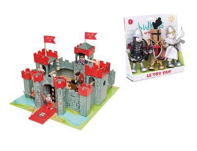 Le Toy Van Lionheart Castle and Knights Set