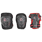 Zycomotion Child Combo Protection Pack - Black/Red