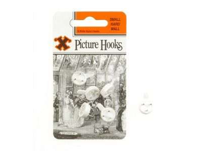 Shaw X Picture Hooks Hardwall Small Wte X40