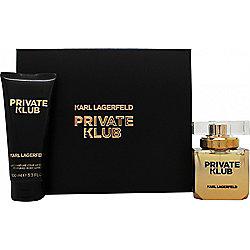 Karl Lagerfeld Private Klub for Women Gift Set 45ml EDP + 100ml Shower Gel For Women