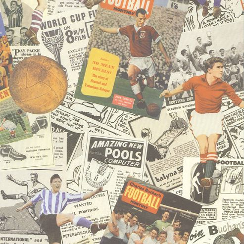 Gift Wrap - Football Monthly