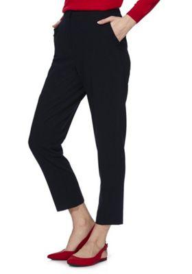 F&F Ruffle Pocket Slim Fit Trousers Navy 20