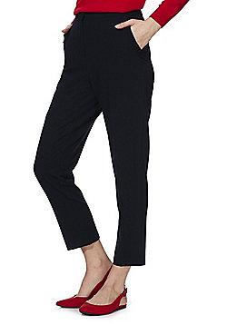 F&F Ruffle Pocket Slim Fit Trousers - Navy