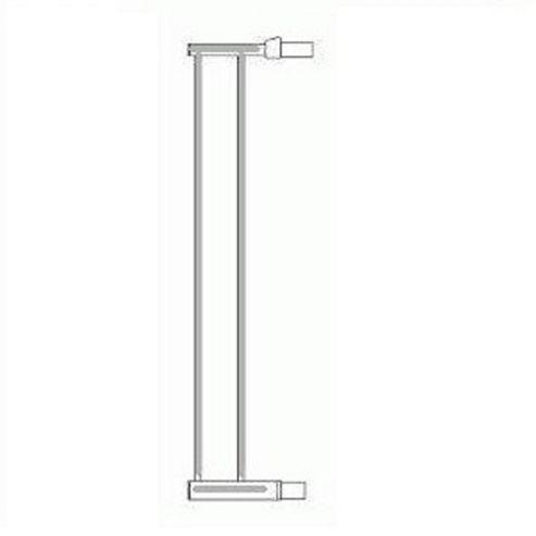 Lindam Sure Shut Extension Silver 14cm