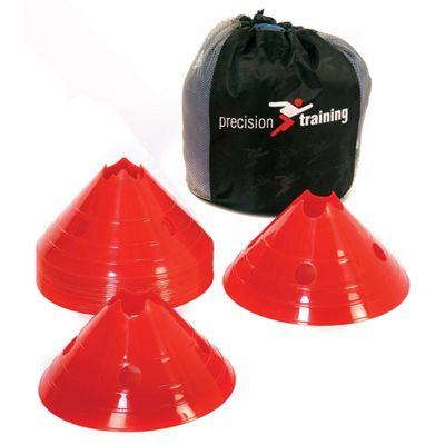 Precision Giant Saucer Cone Set ( 20 White Cones )