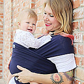 Moby Wrap Classic in Navy