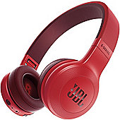 JBL E45, On-Ear Bluetooth Headphones Red