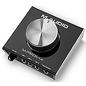 M-Audio M-Track Hub - Compact USB Monitoring Interface with Built-In 3-Port Hub and Simple Ergonomic Operation