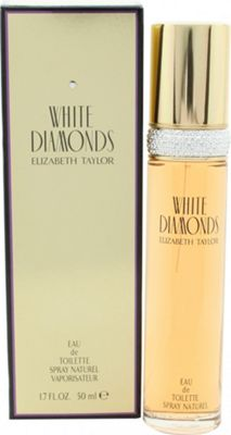 Elizabeth Taylor White Diamonds Eau de Toilette (EDT) 50ml Spray For Women