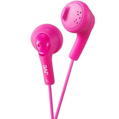 JVC HA-G160 Gumy In-Ear Headphones Pink
