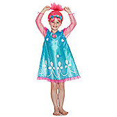 DreamWorks Trolls Poppy Fancy Dress Costume - Blue & Pink